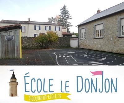Ecole primaire privée le donjon 85110 Sigournais
