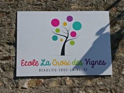 Ecole primaire privée La croix des vignes 85190 Beaulieu-sous-la-Roche